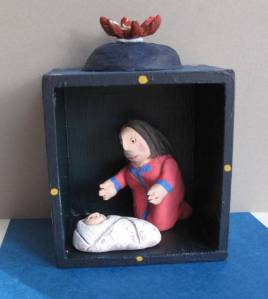 Little nativity Shellie Byatt