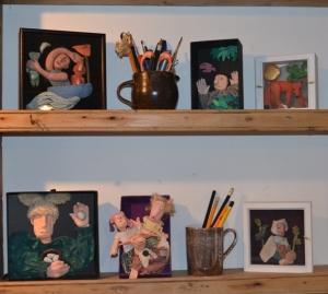 Shelves of nutshells